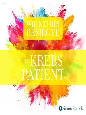 cover image of #Krebspatient
