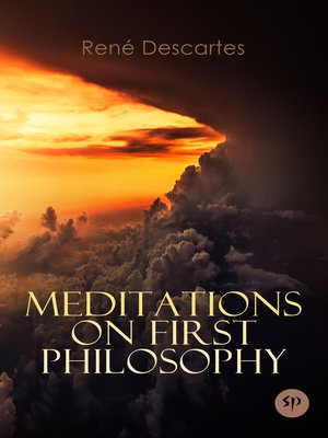 cover image of Meditations on First Philosophy