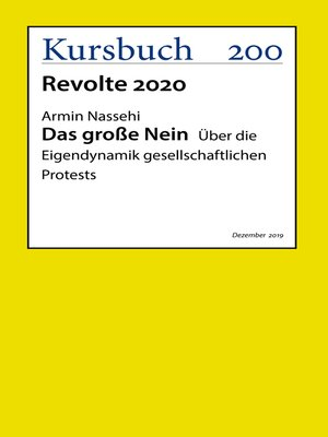 cover image of Das große Nein