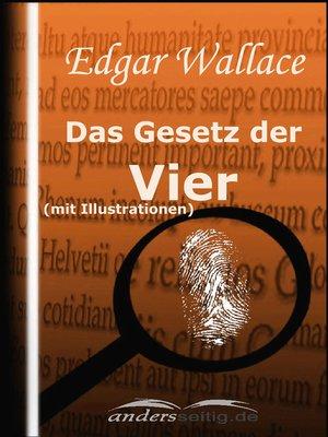 cover image of Das Gesetz der Vier (mit Illustrationen)