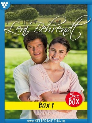 cover image of Leni Behrendt 5er Box 1--Liebesroman