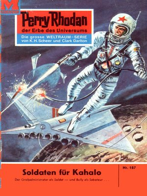 cover image of Perry Rhodan 187