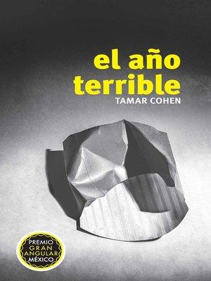 cover image of El año terrible