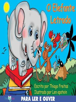 cover image of O elefante letrado