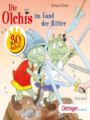 cover image of Die Olchis im Land der Ritter