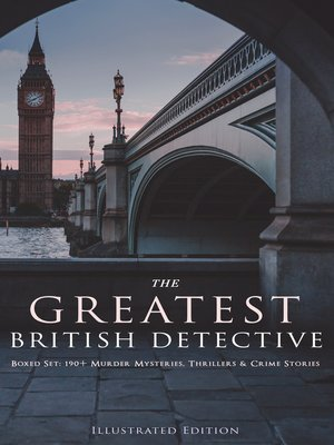 cover image of THE GREATEST BRITISH DETECTIVES--Boxed Set