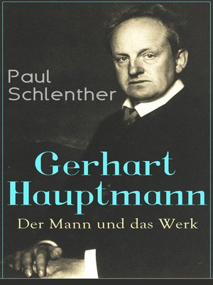 cover image of Gerhart Hauptmann