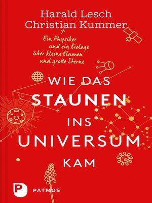 cover image of Wie das Staunen ins Universum kam