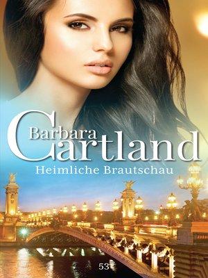 cover image of Heimliche Brautschau