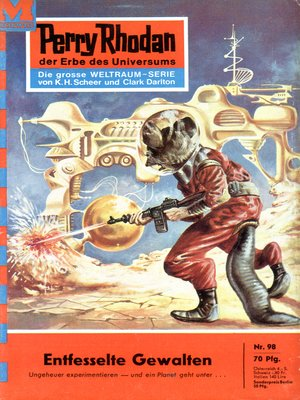 cover image of Perry Rhodan 98