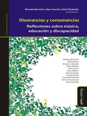 cover image of Disonancias y consonancias