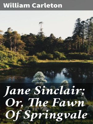 cover image of Jane Sinclair; Or, the Fawn of Springvale