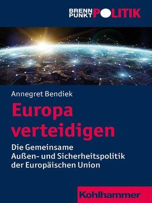 cover image of Europa verteidigen