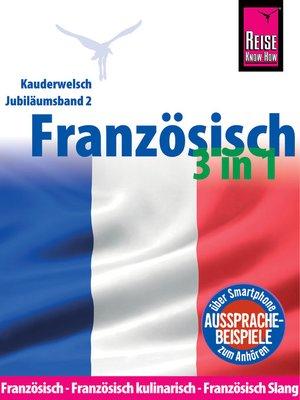 cover image of Reise Know-How Sprachführer Französisch 3 in 1