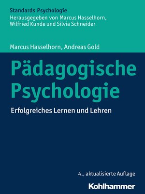 cover image of Pädagogische Psychologie