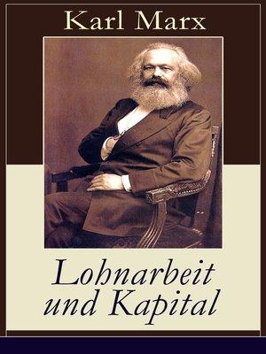 cover image of Lohnarbeit und Kapital
