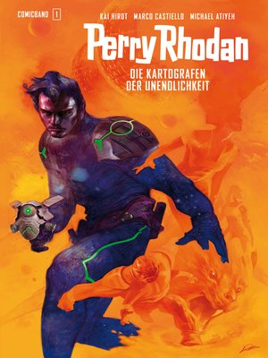 cover image of Perry Rhodan Comicband 1