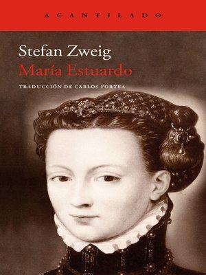 cover image of María Estuardo