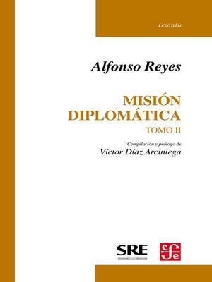 cover image of Misión diplomática, II