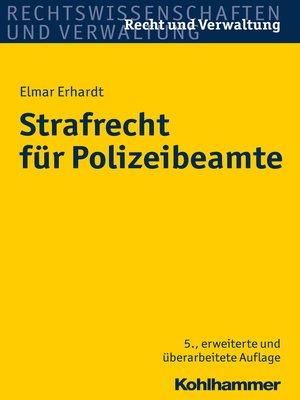cover image of Strafrecht für Polizeibeamte