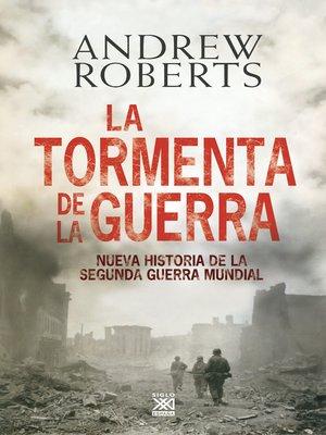 cover image of La tormenta de la guerra