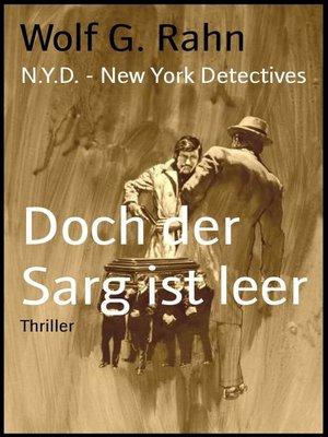 cover image of Doch der Sarg ist leer