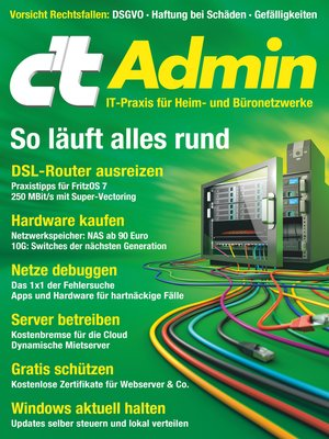 cover image of c't Admin 2018