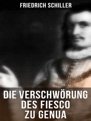 cover image of Die Verschwörung des Fiesco zu Genua