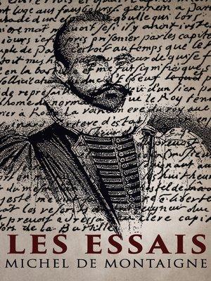 cover image of Les Essais