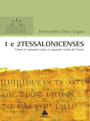 cover image of 1 e 2 Tessalonicenses