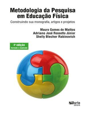 cover image of Metodologia da pesquisa em educação física