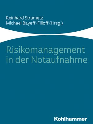 cover image of Risikomanagement in der Notaufnahme