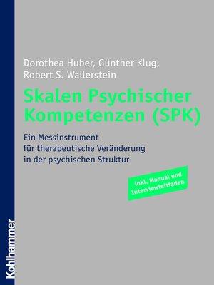cover image of Skalen Psychischer Kompetenzen (SPK)