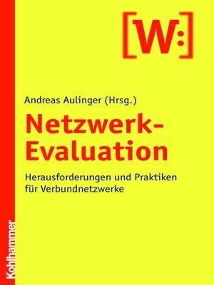 cover image of Netzwerk-Evaluation