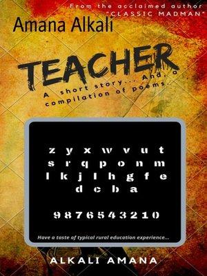 cover image of TEACHER