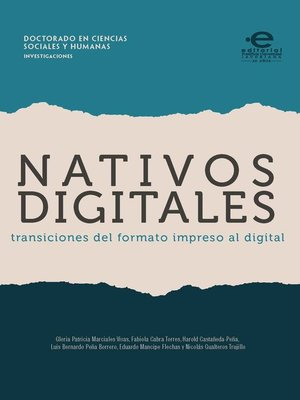 cover image of Nativos digitales