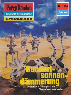 cover image of Perry Rhodan 1194
