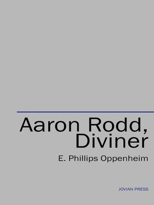 cover image of Aaron Rodd, Diviner