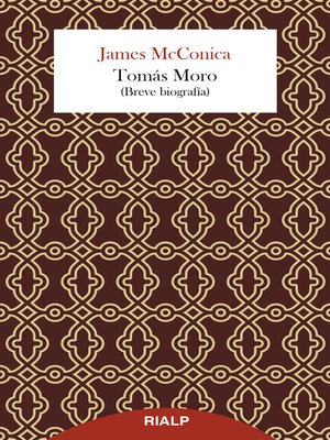 cover image of Tomás Moro