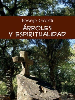 cover image of Árboles y espiritualidad