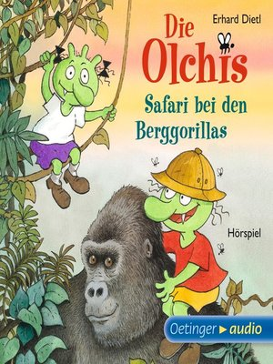 cover image of Die Olchis. Safari bei den Berggorillas