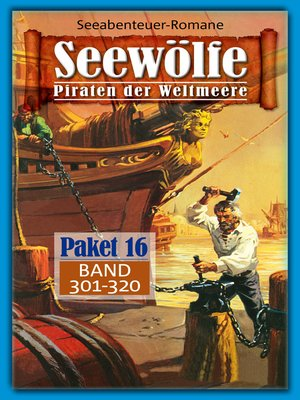 cover image of Seewölfe Paket 16