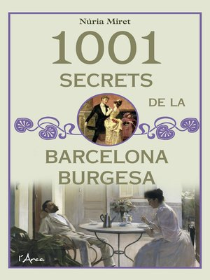 cover image of 1001 secrets de la barcelona burgesa