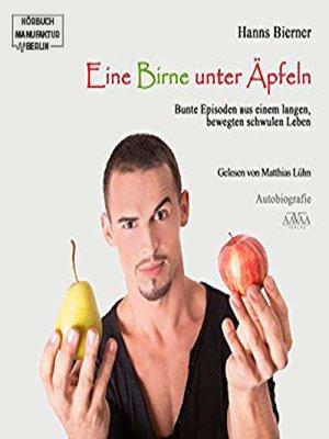 cover image of Eine Birne unter Äpfeln