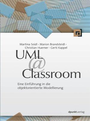 cover image of UML @ Classroom