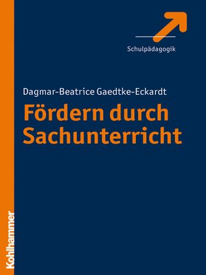 cover image of Fördern durch Sachunterricht