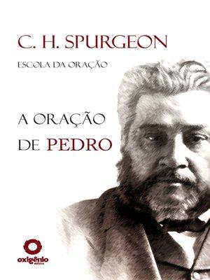 cover image of A Oração de Pedro