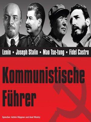 cover image of CD WISSEN--Kommunistische Führer