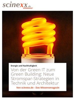 cover image of Von der Green IT zum Green Building