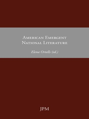 cover image of American Emergent National Literature